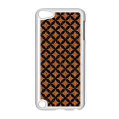 Circles3 Black Marble & Rusted Metal Apple Ipod Touch 5 Case (white) by trendistuff
