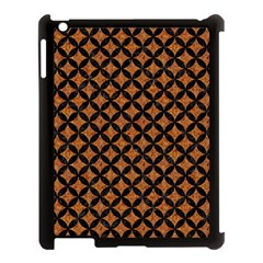 Circles3 Black Marble & Rusted Metal Apple Ipad 3/4 Case (black) by trendistuff
