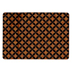 Circles3 Black Marble & Rusted Metal Samsung Galaxy Tab 10 1  P7500 Flip Case by trendistuff