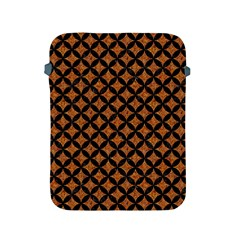 CIRCLES3 BLACK MARBLE & RUSTED METAL Apple iPad 2/3/4 Protective Soft Cases