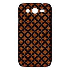 Circles3 Black Marble & Rusted Metal Samsung Galaxy Mega 5 8 I9152 Hardshell Case  by trendistuff