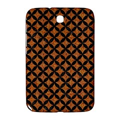 Circles3 Black Marble & Rusted Metal Samsung Galaxy Note 8 0 N5100 Hardshell Case  by trendistuff