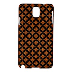 CIRCLES3 BLACK MARBLE & RUSTED METAL Samsung Galaxy Note 3 N9005 Hardshell Case