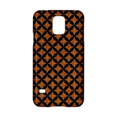CIRCLES3 BLACK MARBLE & RUSTED METAL Samsung Galaxy S5 Hardshell Case