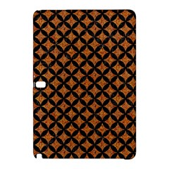 CIRCLES3 BLACK MARBLE & RUSTED METAL Samsung Galaxy Tab Pro 10.1 Hardshell Case