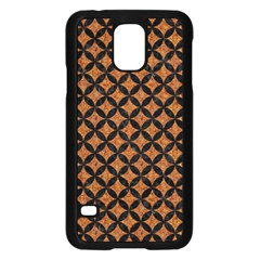 Circles3 Black Marble & Rusted Metal Samsung Galaxy S5 Case (black) by trendistuff