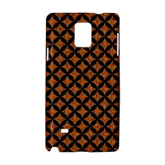 Circles3 Black Marble & Rusted Metal Samsung Galaxy Note 4 Hardshell Case by trendistuff
