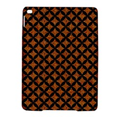 CIRCLES3 BLACK MARBLE & RUSTED METAL iPad Air 2 Hardshell Cases