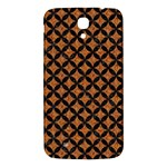 CIRCLES3 BLACK MARBLE & RUSTED METAL Samsung Galaxy Mega I9200 Hardshell Back Case Front