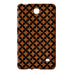 CIRCLES3 BLACK MARBLE & RUSTED METAL Samsung Galaxy Tab 4 (8 ) Hardshell Case