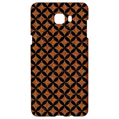 CIRCLES3 BLACK MARBLE & RUSTED METAL Samsung C9 Pro Hardshell Case