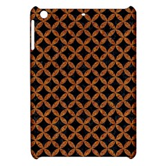 Circles3 Black Marble & Rusted Metal (r) Apple Ipad Mini Hardshell Case by trendistuff
