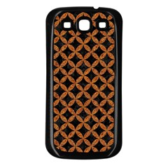 Circles3 Black Marble & Rusted Metal (r) Samsung Galaxy S3 Back Case (black) by trendistuff