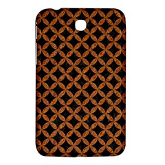 Circles3 Black Marble & Rusted Metal (r) Samsung Galaxy Tab 3 (7 ) P3200 Hardshell Case  by trendistuff