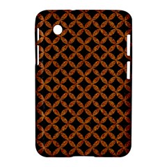 Circles3 Black Marble & Rusted Metal (r) Samsung Galaxy Tab 2 (7 ) P3100 Hardshell Case  by trendistuff