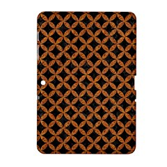Circles3 Black Marble & Rusted Metal (r) Samsung Galaxy Tab 2 (10 1 ) P5100 Hardshell Case  by trendistuff
