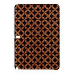 Circles3 Black Marble & Rusted Metal (r) Samsung Galaxy Tab Pro 10 1 Hardshell Case by trendistuff