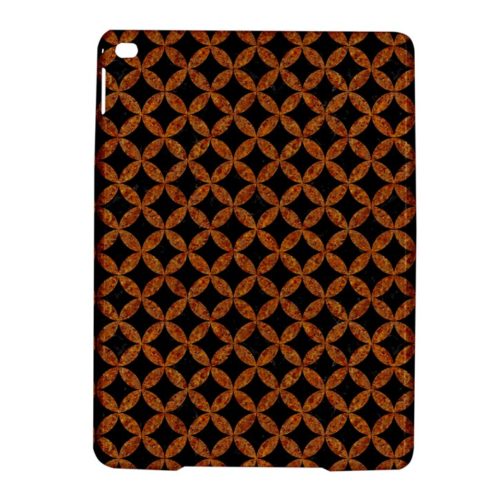 CIRCLES3 BLACK MARBLE & RUSTED METAL (R) iPad Air 2 Hardshell Cases