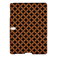 Circles3 Black Marble & Rusted Metal (r) Samsung Galaxy Tab S (10 5 ) Hardshell Case  by trendistuff