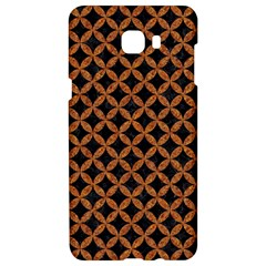 Circles3 Black Marble & Rusted Metal (r) Samsung C9 Pro Hardshell Case  by trendistuff
