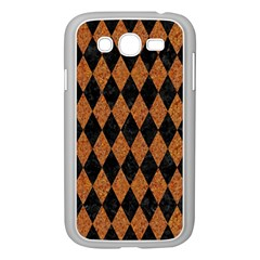 DIAMOND1 BLACK MARBLE & RUSTED METAL Samsung Galaxy Grand DUOS I9082 Case (White)