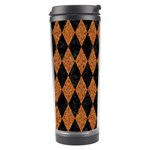 DIAMOND1 BLACK MARBLE & RUSTED METAL Travel Tumbler Center