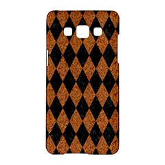 DIAMOND1 BLACK MARBLE & RUSTED METAL Samsung Galaxy A5 Hardshell Case