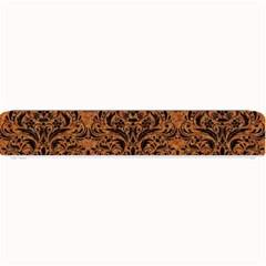DAMASK1 BLACK MARBLE & RUSTED METAL Small Bar Mats