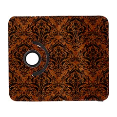 DAMASK1 BLACK MARBLE & RUSTED METAL Galaxy S3 (Flip/Folio)