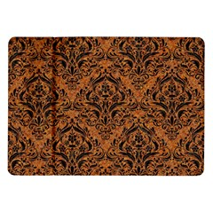 DAMASK1 BLACK MARBLE & RUSTED METAL Samsung Galaxy Tab 10.1  P7500 Flip Case