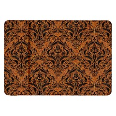 DAMASK1 BLACK MARBLE & RUSTED METAL Samsung Galaxy Tab 8.9  P7300 Flip Case