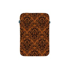 DAMASK1 BLACK MARBLE & RUSTED METAL Apple iPad Mini Protective Soft Cases