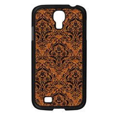 DAMASK1 BLACK MARBLE & RUSTED METAL Samsung Galaxy S4 I9500/ I9505 Case (Black)