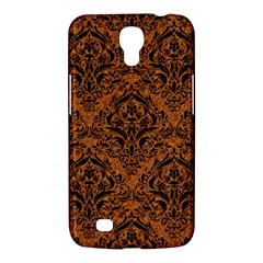 Damask1 Black Marble & Rusted Metal Samsung Galaxy Mega 6 3  I9200 Hardshell Case by trendistuff