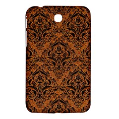 DAMASK1 BLACK MARBLE & RUSTED METAL Samsung Galaxy Tab 3 (7 ) P3200 Hardshell Case