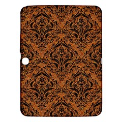 DAMASK1 BLACK MARBLE & RUSTED METAL Samsung Galaxy Tab 3 (10.1 ) P5200 Hardshell Case