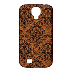 DAMASK1 BLACK MARBLE & RUSTED METAL Samsung Galaxy S4 Classic Hardshell Case (PC+Silicone)