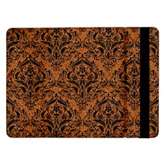 DAMASK1 BLACK MARBLE & RUSTED METAL Samsung Galaxy Tab Pro 12.2  Flip Case