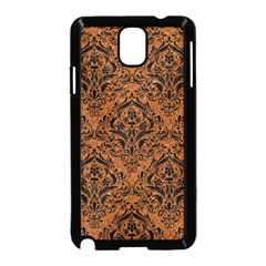 Damask1 Black Marble & Rusted Metal Samsung Galaxy Note 3 Neo Hardshell Case (black) by trendistuff