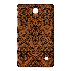 DAMASK1 BLACK MARBLE & RUSTED METAL Samsung Galaxy Tab 4 (7 ) Hardshell Case