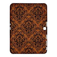 DAMASK1 BLACK MARBLE & RUSTED METAL Samsung Galaxy Tab 4 (10.1 ) Hardshell Case