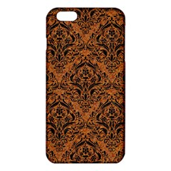 DAMASK1 BLACK MARBLE & RUSTED METAL iPhone 6 Plus/6S Plus TPU Case