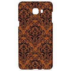 Damask1 Black Marble & Rusted Metal Samsung C9 Pro Hardshell Case  by trendistuff