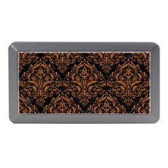 DAMASK1 BLACK MARBLE & RUSTED METAL (R) Memory Card Reader (Mini)