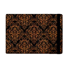 DAMASK1 BLACK MARBLE & RUSTED METAL (R) Apple iPad Mini Flip Case