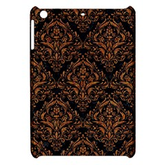 DAMASK1 BLACK MARBLE & RUSTED METAL (R) Apple iPad Mini Hardshell Case