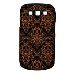 Damask1 Black Marble & Rusted Metal (r) Samsung Galaxy S Iii Classic Hardshell Case (pc+silicone) by trendistuff