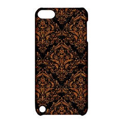 DAMASK1 BLACK MARBLE & RUSTED METAL (R) Apple iPod Touch 5 Hardshell Case with Stand