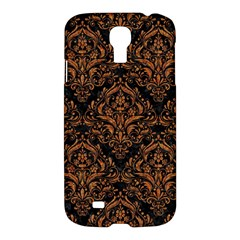 DAMASK1 BLACK MARBLE & RUSTED METAL (R) Samsung Galaxy S4 I9500/I9505 Hardshell Case