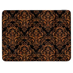 DAMASK1 BLACK MARBLE & RUSTED METAL (R) Samsung Galaxy Tab 7  P1000 Flip Case